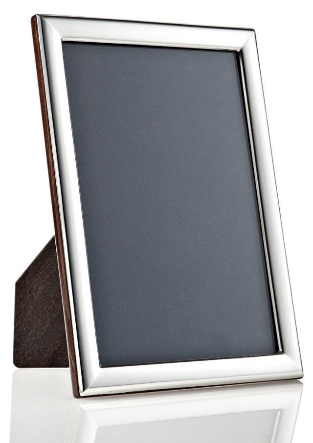 925 Sterling Plain Deco Frame, 4x6