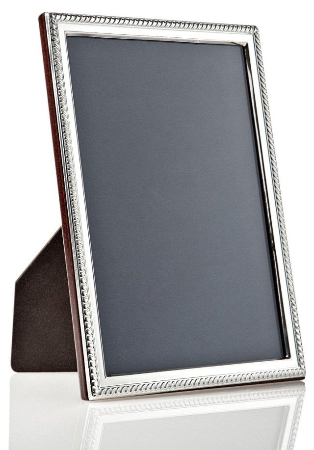 925 Sterling Roped Frame, 8x10