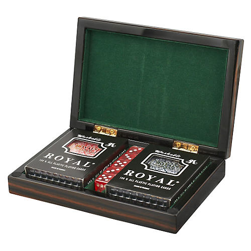 Polished Card Set, Ebony