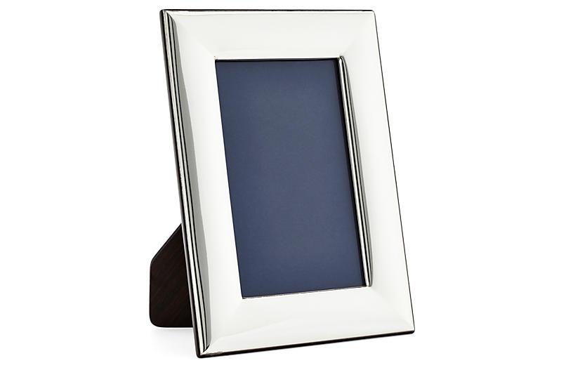 Sterling-Silver Plain Frame, 3x5