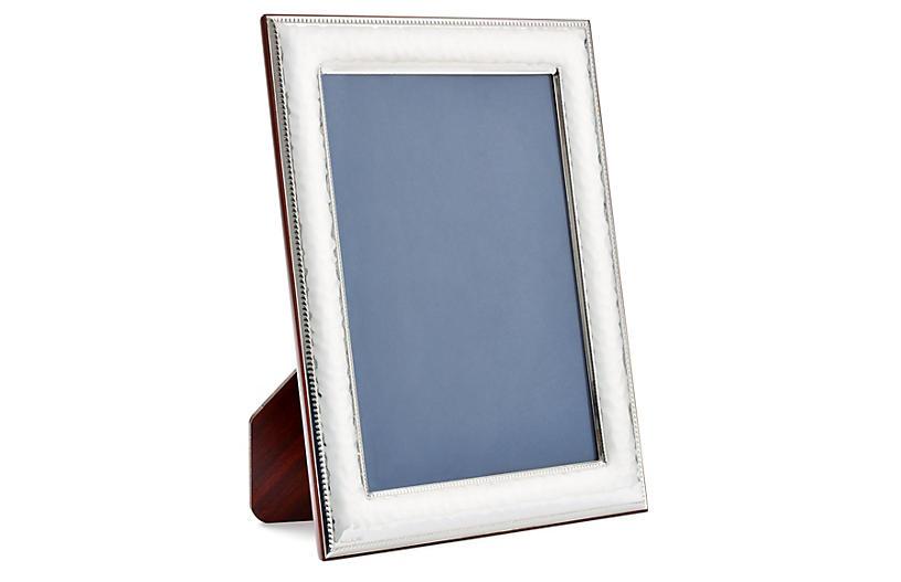 Sterling Braid Hammered Frame, 5x7
