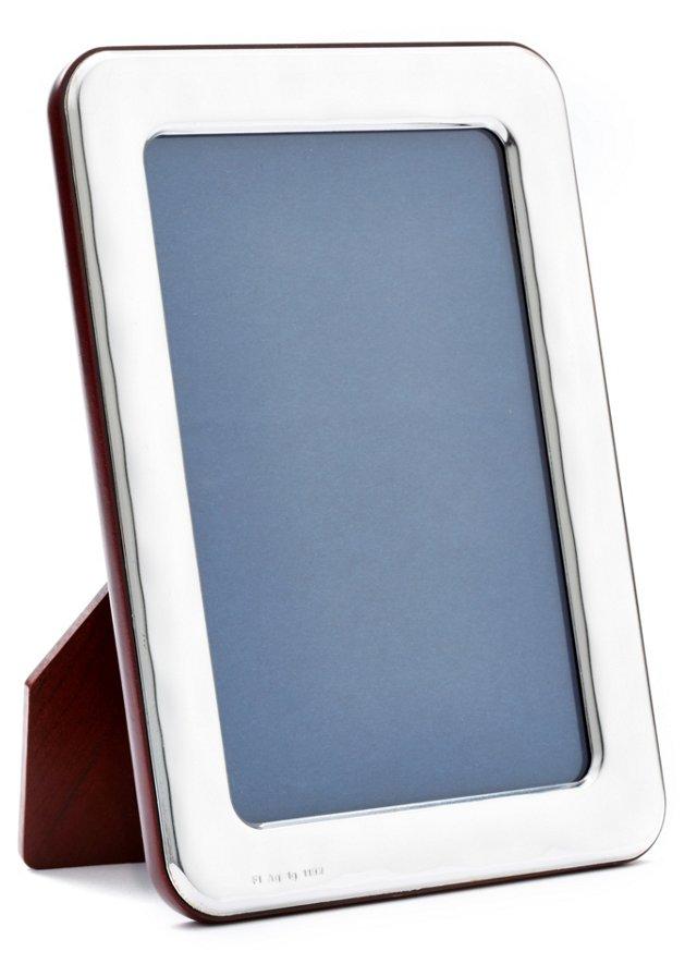 Sterling-Silver Light Frame, 5x7