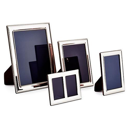 Asst. of 4 Double-Beaded Sterling Frames