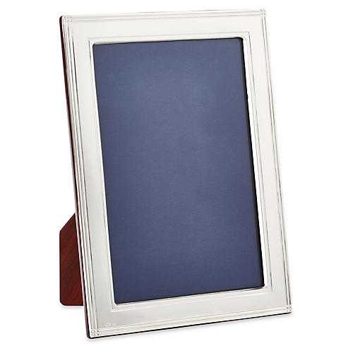 Flat Square Corners Frame, Silver