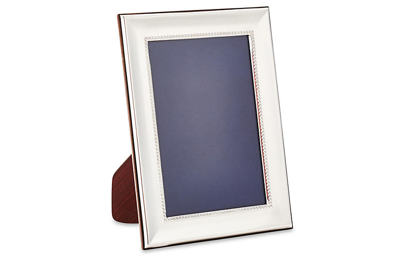 Sterling Alessa Bead Frame, 8x10