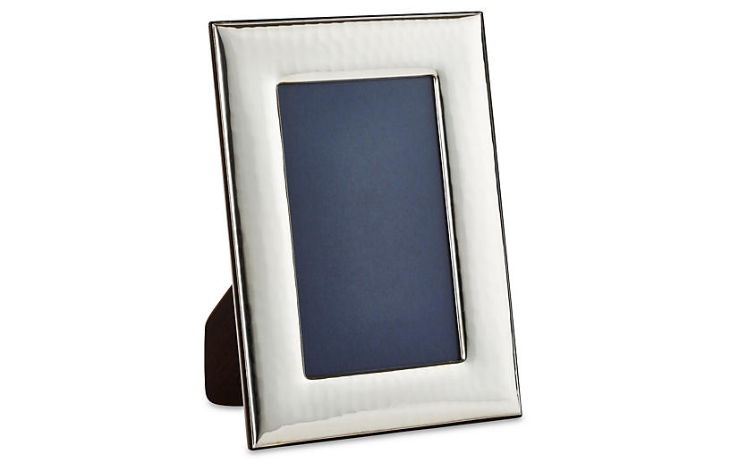 Sterling Wide Hammered Frame, 8x10
