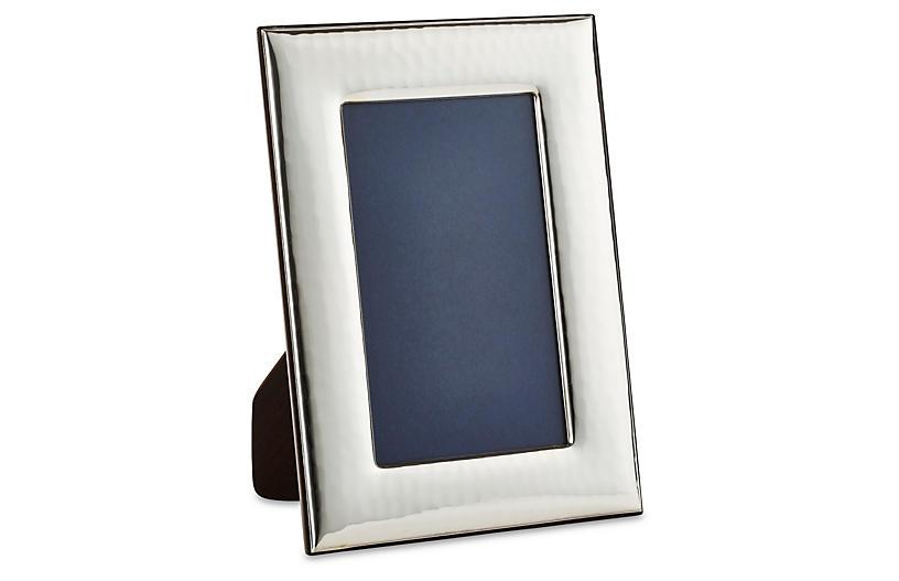 Sterling Wide Hammered Frame, 8x10