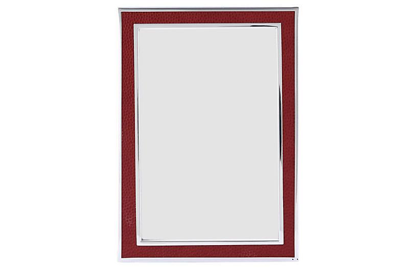 Villere Frame, 5x7, Red