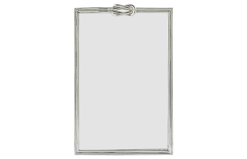 Dupre Knot Picture Frame, Silver