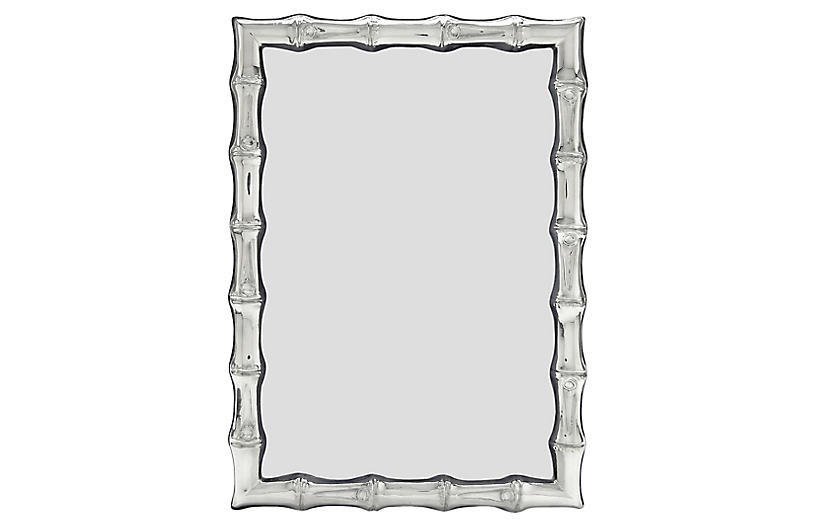 Lepage Bamboo Picture Frame, Silver