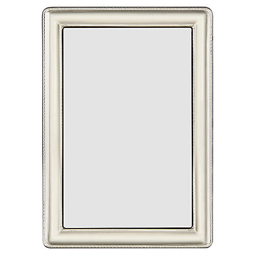 Desoto Rope Picture Frame, Silver
