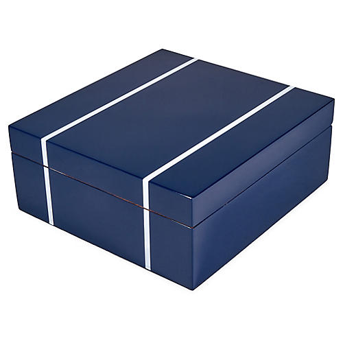Spruce Watch Box, Blue