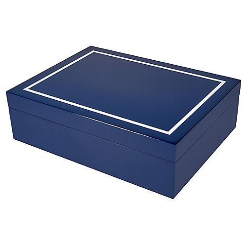 Touro Jewelry Box, Blue