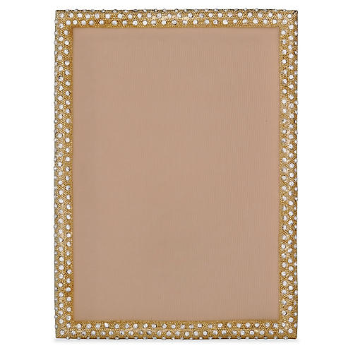 Palmyra Jeweled Picture Frame, Gold
