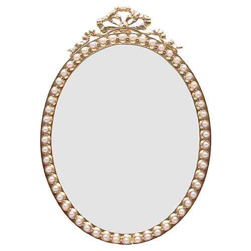 Calliope Oval Picture Frame, Gold