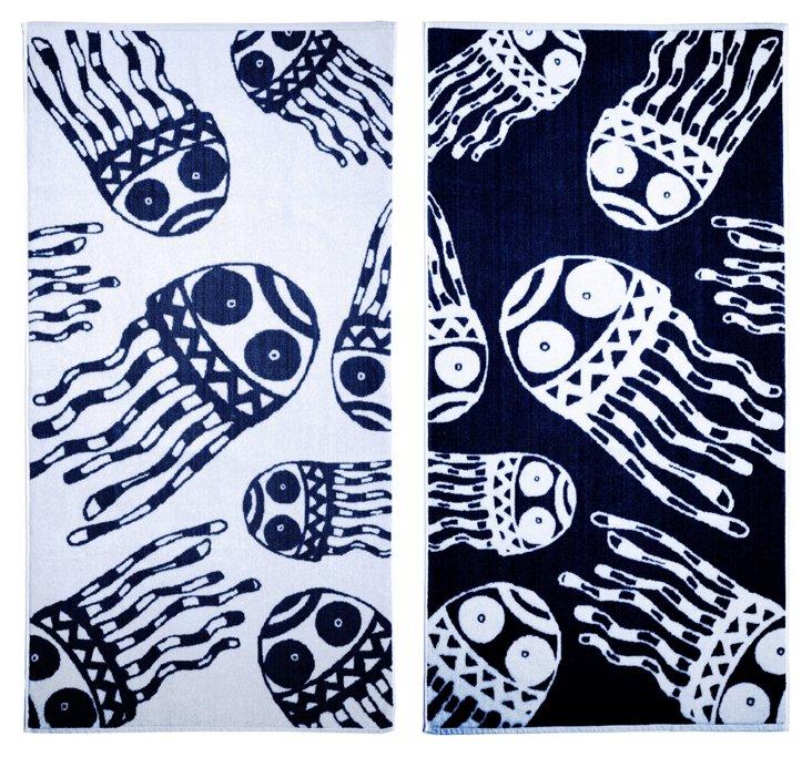 Matthew Langille, Jellyfish Beach Towel