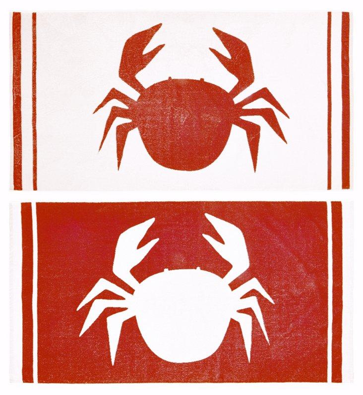 James Wilson, Crab Beach Towel