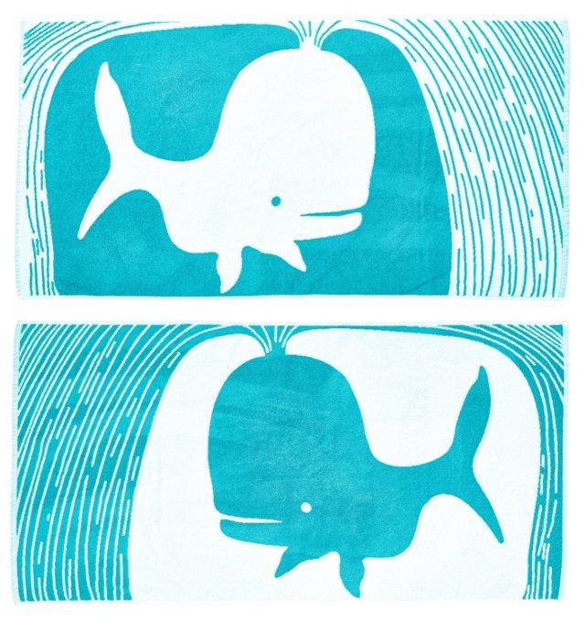 LeAnna Benson, Whale Beach Towel