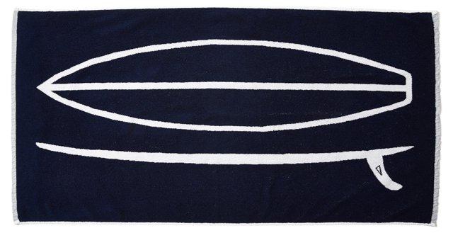 Miles Perry, Surfboard Beach Towel