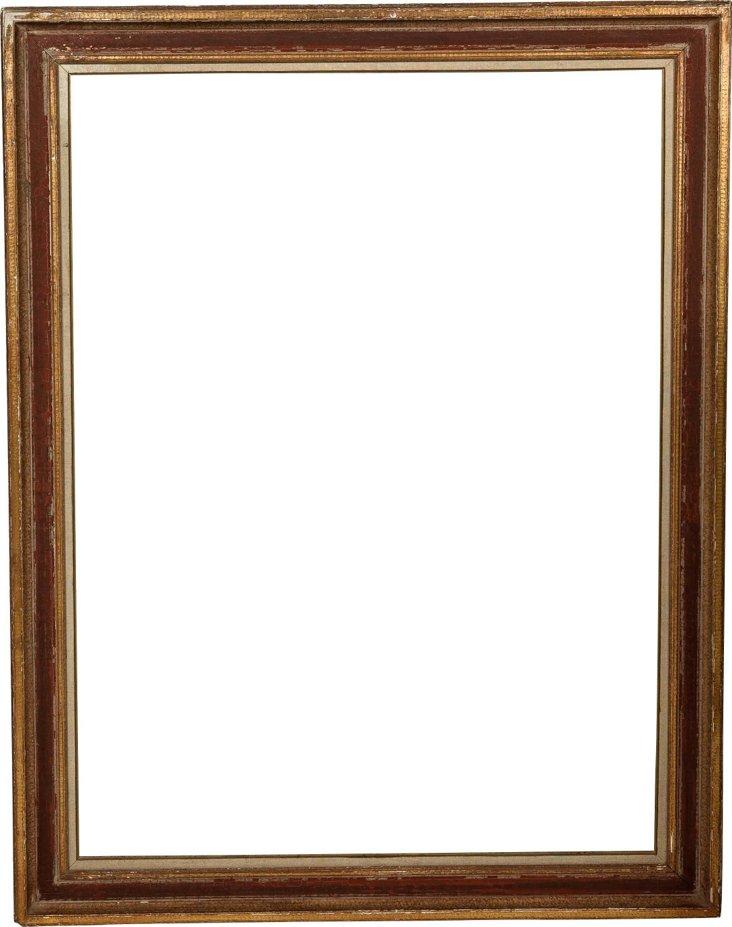 Vintage French Gold-Leafed Frame III