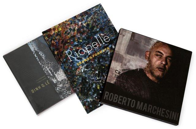 Contemporary Artists, Set of 3