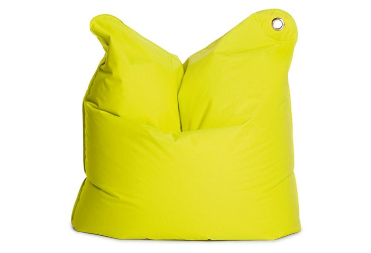 Medium Beanbag, Lime Green