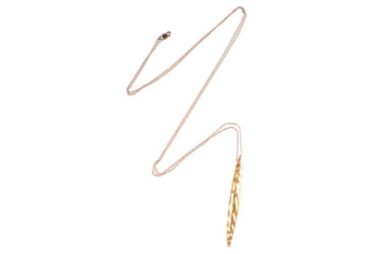 Birget Necklace, Gold