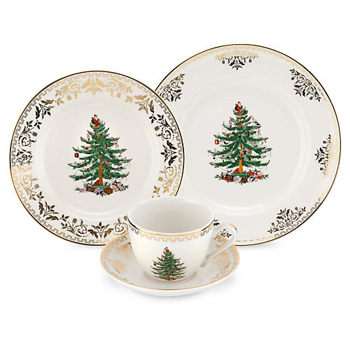 4-pc Holiday Place Setting