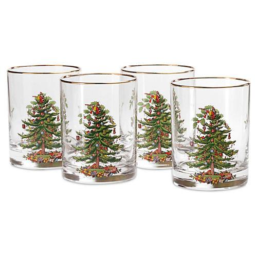 S/4 Christmas Tree DOF Glasses