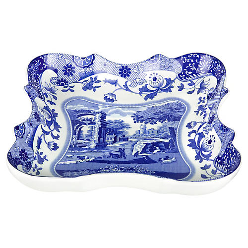 Blue Italian Devonia Tray