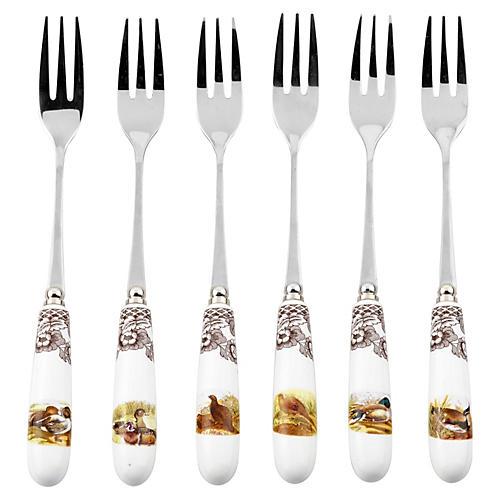 Asst. of 6 Pastry Forks