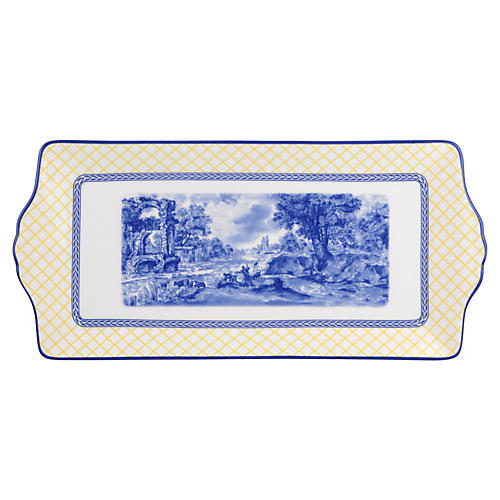Giallo Sandwich Tray, 13""