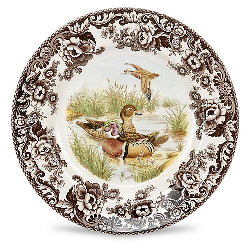 Woodland Salad Duck Plate