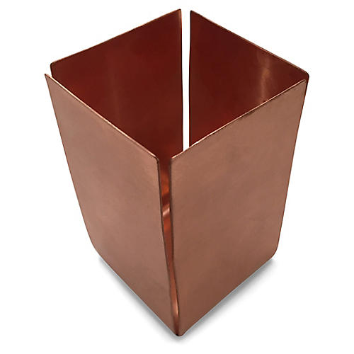 Rizz Pencil Cup, Copper