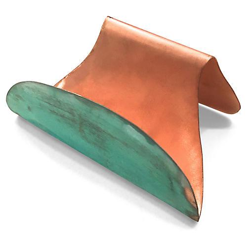 Bardi Copper Card Holder, Rose Gold