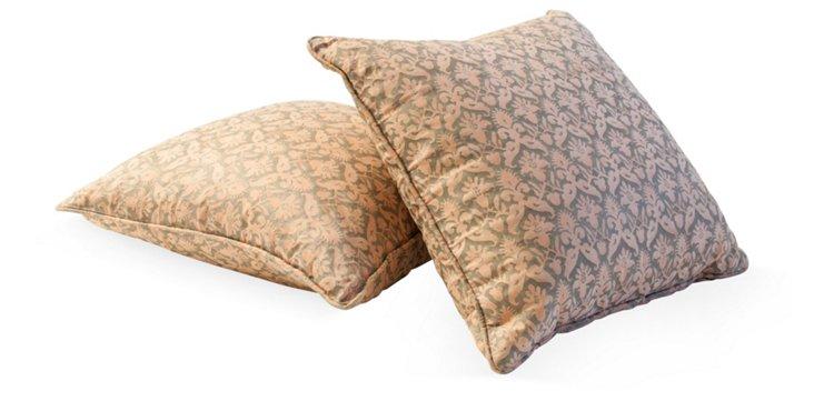 Delfino Fortuny Pillows, Pair I
