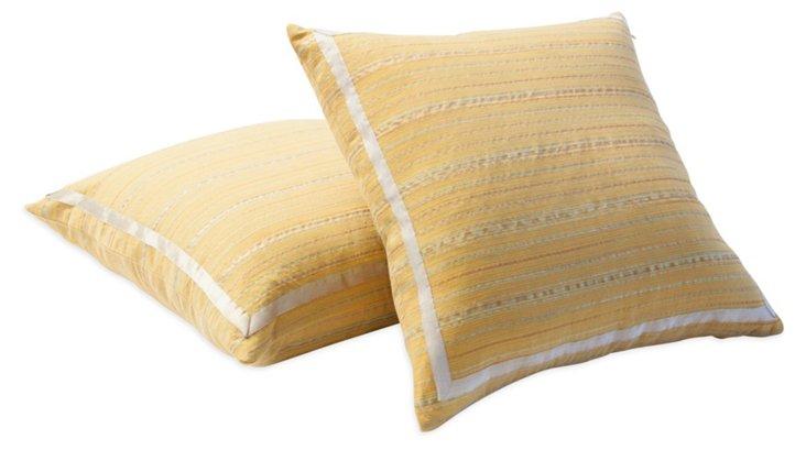 Malmaison Fortuny Pillows, Pair