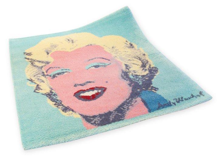 """Marilyn Monroe Rug, 2'10"""" x 2'8"""""""