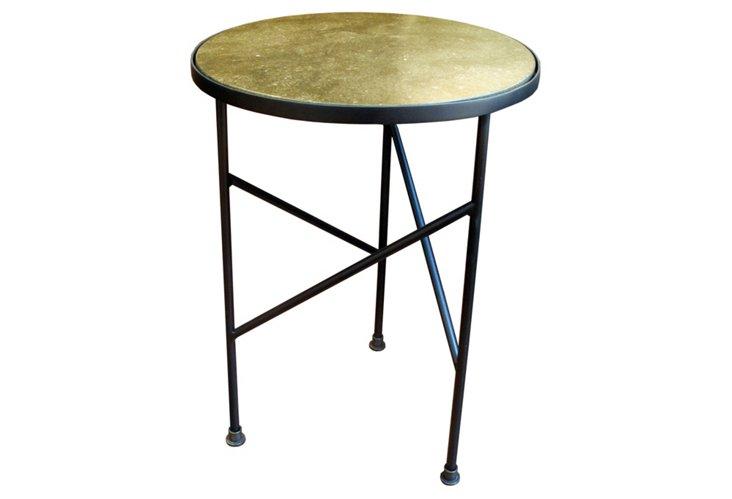 Guéridon Side Table, Dark Bronze