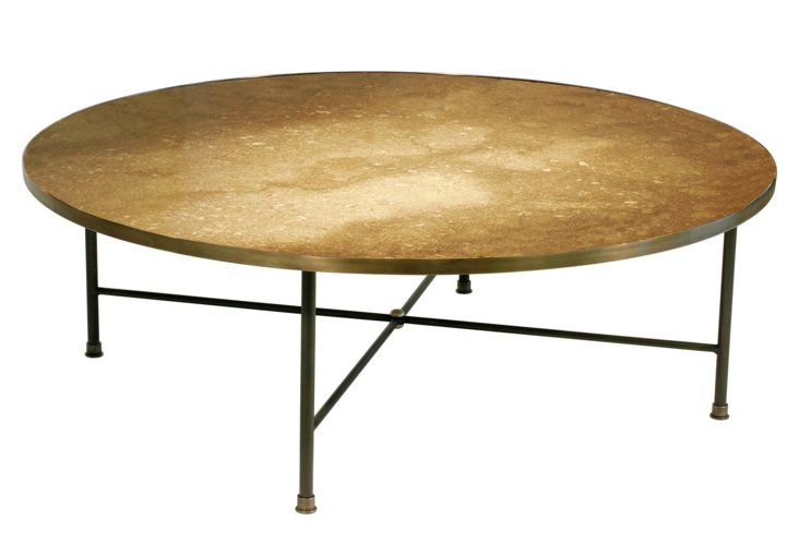 Cercle Cocktail Table, Bronze