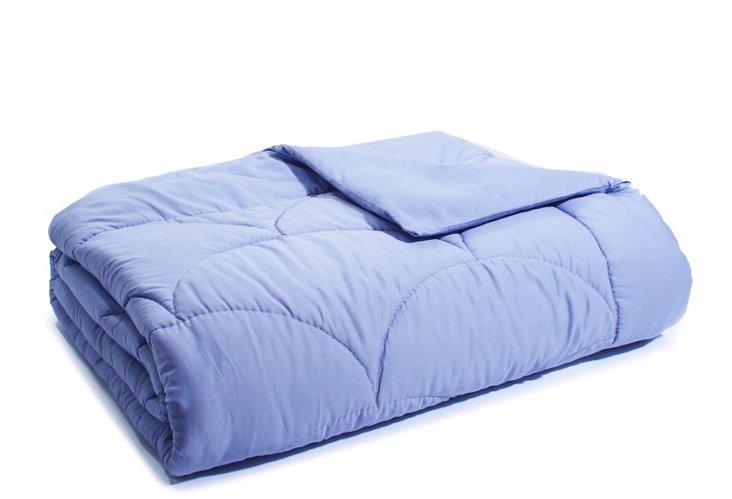 Organic Merino Wool Comforter, Violet