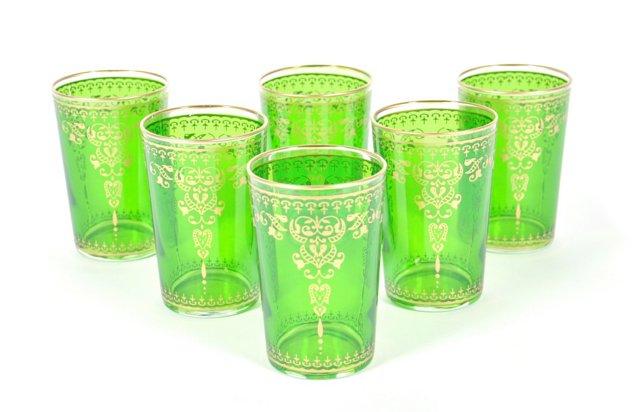 S/6 Marjana Moroccan Glasses