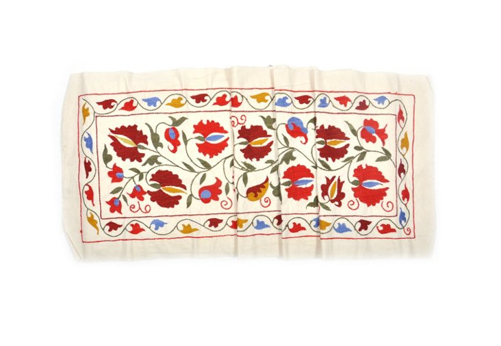 Vintage Suzani Table Runner