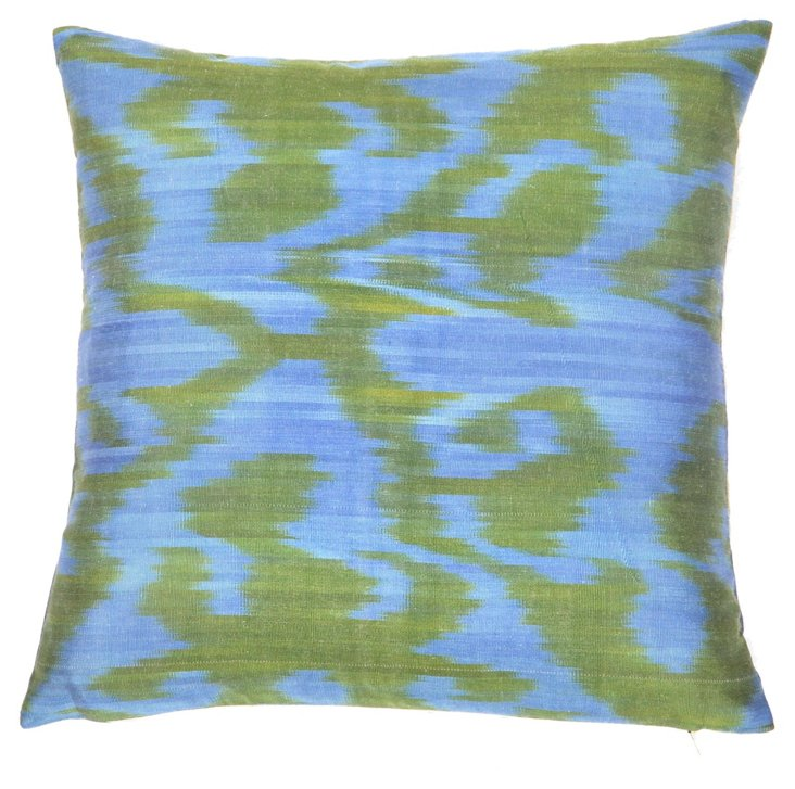 Lodi 15x15 Lodi Silk Pillow, Multi