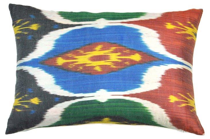 Layla 14x20 Silk Pillow, Multi