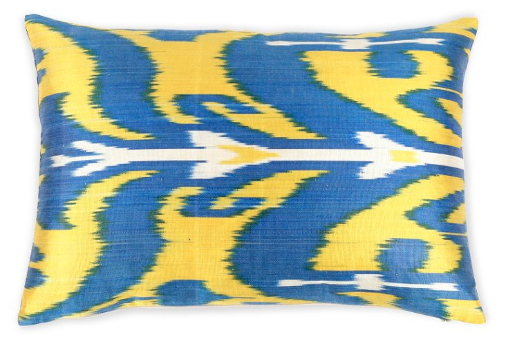 Busa 14x20 Silk Pillow, Multi