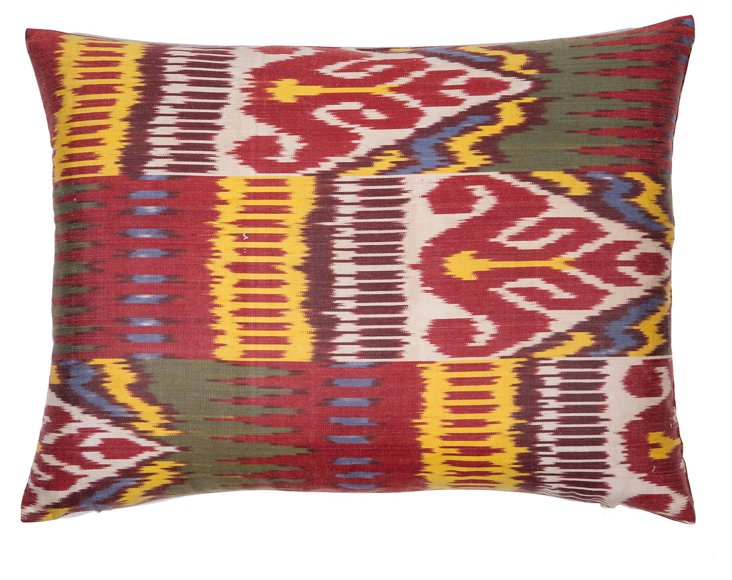 Palama 13x19 Silk Pillow, Multi