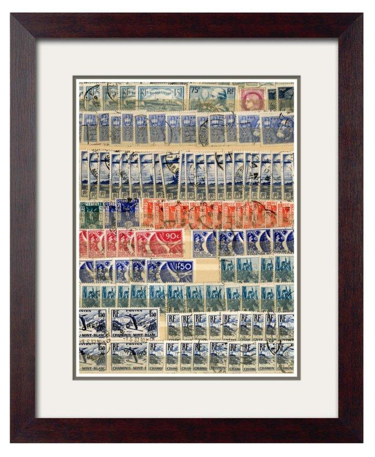 World Stamp Collage III