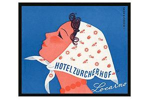 Lucarno Zurcherhof Print