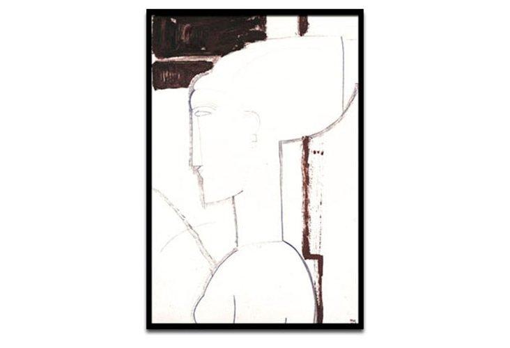 Modigliani Head V
